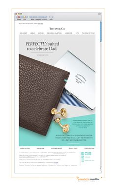 Brand: Tiffany & Co. | Subject: Father's Day Gifts of Lasting Style