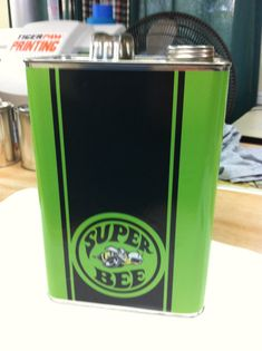Vintage Style Super Bee Mopar Gallon by MotorCityHardware on Etsy