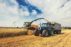 Furthermore, all New Holland combine maize and grain headers, together with specific Forage Harvester maize headers can be fitted.