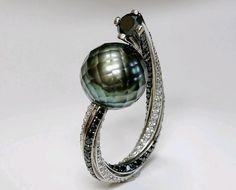 Anelli fidanzamento 2014 solitario con perle