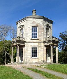 Temple of the Winds, Mount Stewart, County Down, Northern Ireland. James Stuart, 1765. Source: The Irish Aesthete.