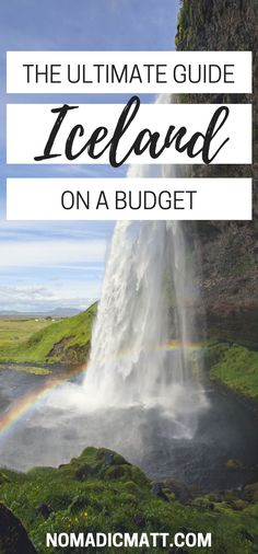 A comprehensive budget travel guide to Iceland made from hand experience with tips on things to do, see, ways to save money, costs, and more! Guide To Iceland, Iceland Travel Tips, Europe Travel Tips, Budget Travel, Travel Guides, Places To Travel, Travel Destinations, Travel Goals, Tours