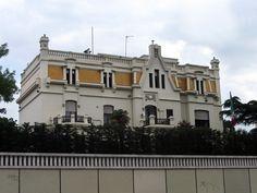 Palacetes de Madrid: PALACIO DE JOAQUÍN OTAMENDI- C/ Pinar, 13 c/v C/María de Molina.  Joaquín Otamendi y Antonio Palacios, 1913.  Actual residencia del embajador de México
