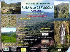 Ruta de Senderismo a La Cervigona en Acebo el sábado 14 de marzo