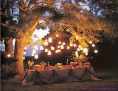 Love this idea for the rehearsal dinner. http://www.artsyweddingblog.com/wp-content/uploads/2011/12/Fantastic-Fall-Rehearsal-Dinner-Ideas.jpg