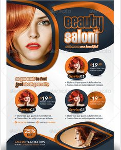 66 beauty salon flyer templates free psd eps ai illustrator format downlaod