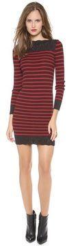 ShopStyle.ca: Jean paul gaultier Long Sleeve Striped Knit Dress $511.40