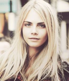 Cara Delevingne- I've been told I look like her
