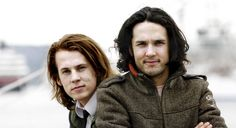 Ylvis ~ They're way too pretty to have made one of the most irritatingly catchy songs I have ever had the misfortune of hearing.