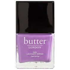 Opaque lavender orchid creme. A mum's act of coddling sheltering and sissifying her child. 0.4 oz (11 ml)