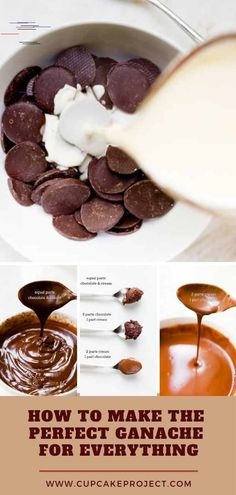 How to Make Chocolate Ganache - Easy Ganache Recipe With Step-by-Step Photos Chocolate ganache is very versatile. By combining just two ingredients, chocolate and heavy whipping cream, you can create cake filling, poured glaze, a spread or piped frosting, a decorative drizzle, or the base for truffles! This recipe is so easy!