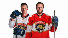 SUNRISE, Fla. -- The Florida Panthers unveiled a new logo and uniforms at BB&T Center on Thursday.With the exceptions of tweaks, the Panthers have had the same logo, featuring a leaping panther, and red and blue jerseys since they began play in 1993-94.