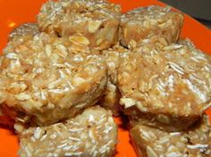 Tony Horton's Sticky Bars (P90X) - healthier alternative to the granola bar recipes loaded with sugars & syrups
