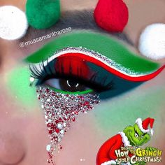 Elves Love Candy Cane Cereal | Christmas Body Glitter Pot