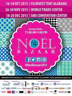 Noel Bazaar To Do This Weekend, World Trade Center, Convention Centre, October, Noel