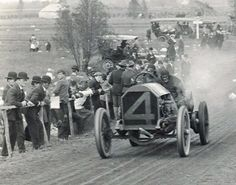 "1908 Chadwick #4 (a.k.a. ""Big Six""), the first supercharged race car."