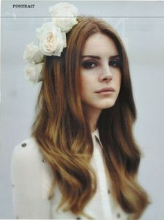 Poster Lana Del Rey Portrait.
