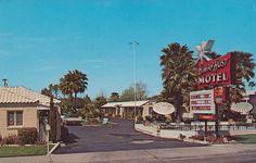 Post Card of Highway Host Motel Mesa Arizona