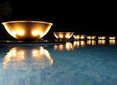 "Pool of Hotel ""Atlantis The Palm Jumeirah"" - West Crescent - Dubai - Émirats arabes unis / United Arab Emirates  www.atlantisthepalm.com/   The hotel is the ideal spot for yoga vacations in Nicaragua. - http://www.casaluciagranada.com/"