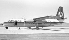 F.27 VH-MMB at Perth Airport in March 1971.  It was sold to East West Airlines when replaced by new F.28 Fellowships. Image Geoff Goodall