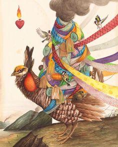 El Gato Chimney's Surreal Explorations with Wild Animals   Hi-Fructose Magazine