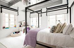 Lovely bedroom light + open space