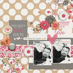 Sweet Shoppe Designs :: NEW Releases :: New Releases - 2/7 :: Happiness Is: You + Me by Meghan Mullens & Tickled Pink Studio