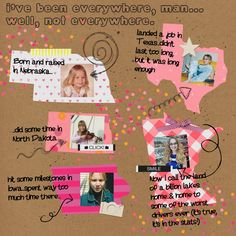 I've been everywhere...Digital Scrapbook Layout using State Templates at Pixelscrapper