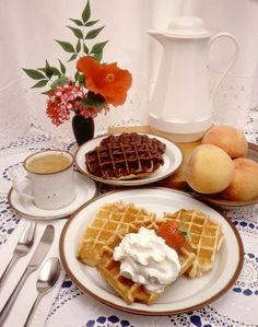 Mexican Food Recipes, Vanilla, Breakfast, The World, Waffles, Homemade Food, Tarts, Lunches, Afternoon Snacks