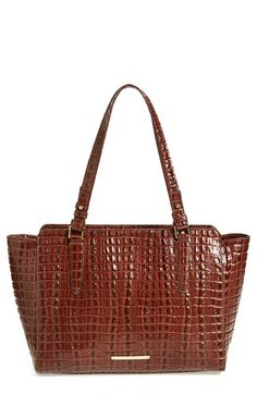 Brahmin 'West Lake' Embossed Tote (Nordstrom Exclusive) available at #Nordstrom