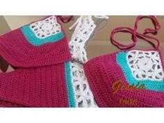Crochet bikini: Square