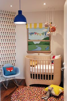In The Nursery With Chantal Villanueva | Modern Crib, Nursery Modern And  Nursery