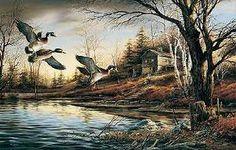 Backwoods Cabin - Terry Redlin