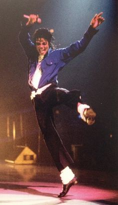 LOVE this picture!  To me it perfectly illustrates Michael's skill and love of dance.