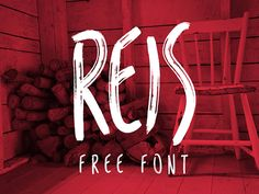 REIS FREE FONT BY MARCELO REIS MELO on Behance