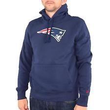 New Era Team Logo New England Patriots Hoodie Herren Pullover dunkelblau 31039