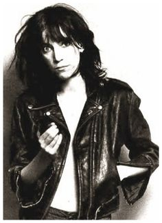 young patti smith.