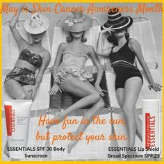 It's Skin Cancer Awareness month and Memorial Weekend, the official start to summer. So let's talk about practicing safe sun. The sun is actually a human caricinogen and 90% of aging comes from the sun. 90%! Protect yourself from head to toe with a high-quality sunscreen. I'd love to help you stay safe outside with the sunscreens developed by our two practicing dermatologist founders, Dr. Katie Rodan and Dr. Kathy Fields.  √ You want to block the sun while you're fighting the signs of aging…