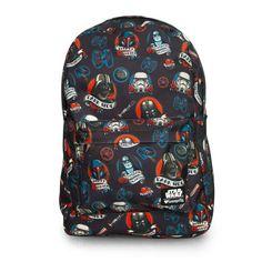 (affiliate link) Star Wars Dark Side Tattoo Backpack