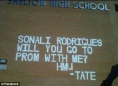 James Tate Banned from Prom for Posting Giant Invite to Sonali Rodrigues in CN (VIDEO)