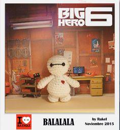 #amigurumi #bighero6 Big Hero 6, Baymax, Movie Stars, Dinosaur Stuffed Animal, Tv, People, Animals, Amigurumi, Movies