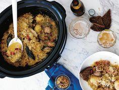Kyselé zelí choucroute , Foto: kuchařka Zdravá jídla z pomalého hrnce