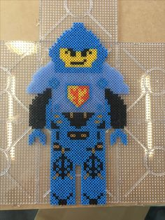 Clay Nexo Knights bead pattern