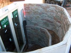 Custom window wells by E & C Precast   www.EandCPrecast.com  #precast #Denver #Colorado #concrete #window #newhome Wells, Window Well, Precast Concrete, Custom Windows, Denver Colorado, New Homes, It Cast, Basement Ideas