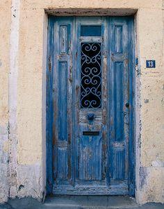 Blue door | Flickr - Photo Sharing!