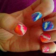 IMpress nails :) Just perfect for a quick fix to a great set of nails for the evening!