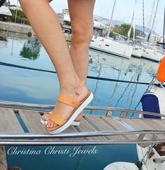 Christina Christi Jewels  Another one beautiful pair of sandals, you can find them in Christina Christi Jewels Store. A very comfortable and