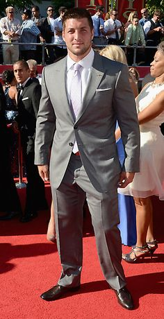 Tim Tebow at the ESPYS (July 11, 2012)