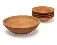 Cherry Wood Salad Bowls http://www.woodesigner.net offers great guidance and tips to woodworking
