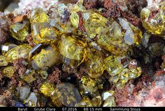 Baryt auf Fluorit Clara Mine, Rankach valley, Oberwolfach, Wolfach, Black Forest, Baden-Württemberg, Germany Copyright © Stoya